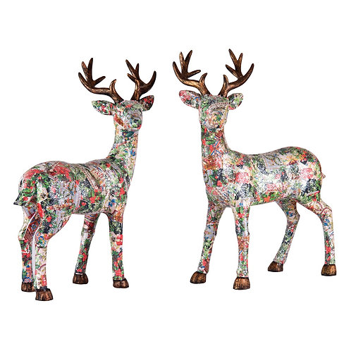 Decoupage Standing Stag, A/2