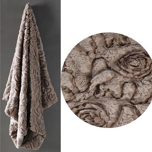 Chenille Textiles Throw Blanket