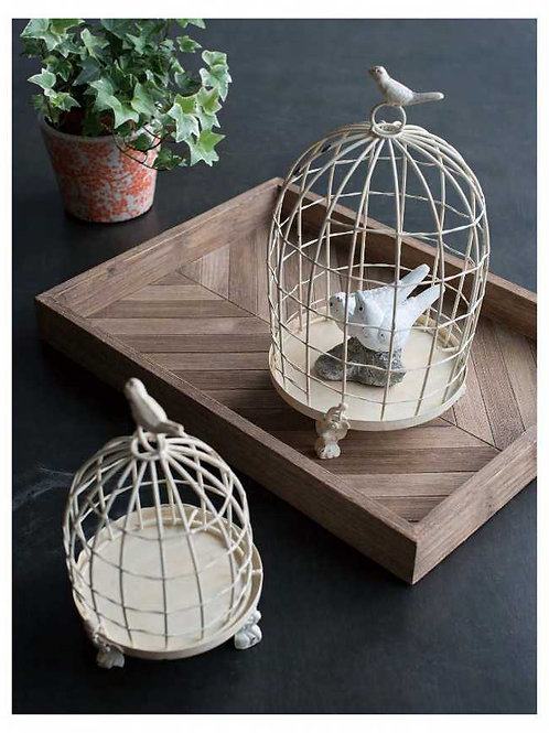 Decorative Birdcages with Bird Finial