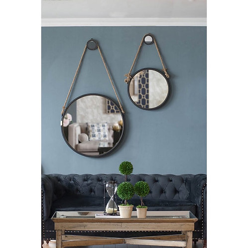 Mirror with Hanger