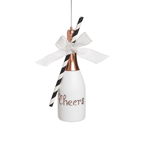 Champagne Cheers Ornament