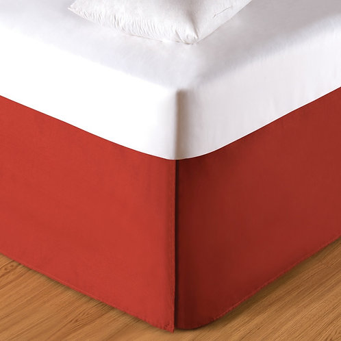 Paprika Bed Skirt