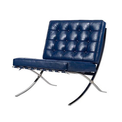 Blue Barcelona Chair