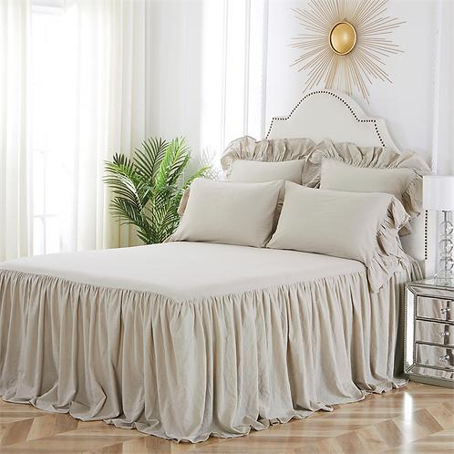 Ruffled Bedspread