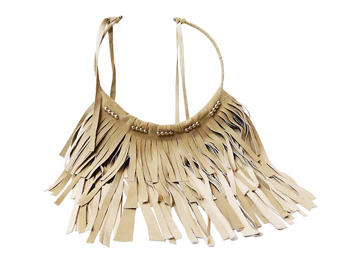 Southern Girl - 3 Layer Fringe Necklace