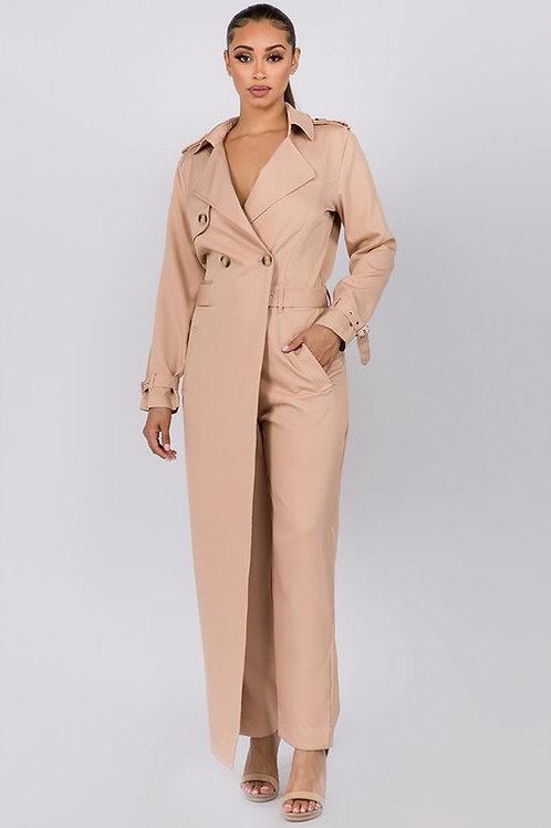 Coat Jumpsuit