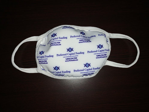 Custom Design or Logo – Washable – Anti-Microbial - $5.50 / Mask