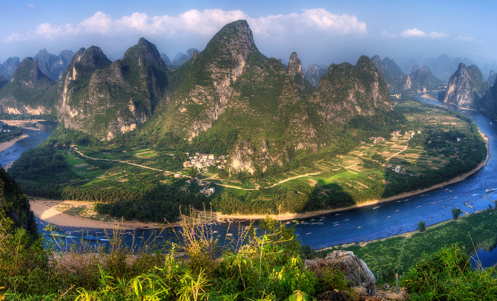 The Li River in Guilin