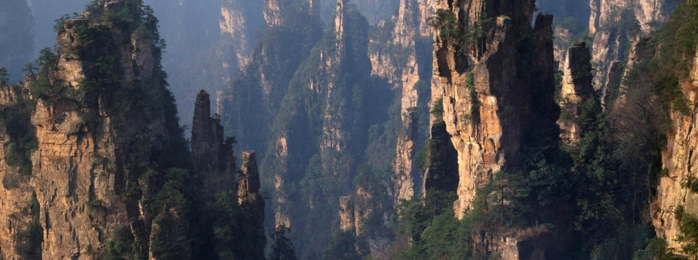 The yellow mountains near Shanghai