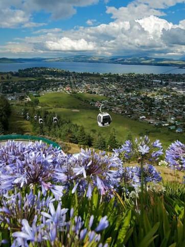 Rotorua- Dramatically real with lava lines