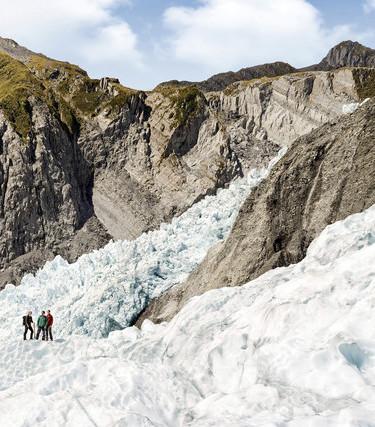 Fox and Franz josef glaciers- World's most accesible glaciers