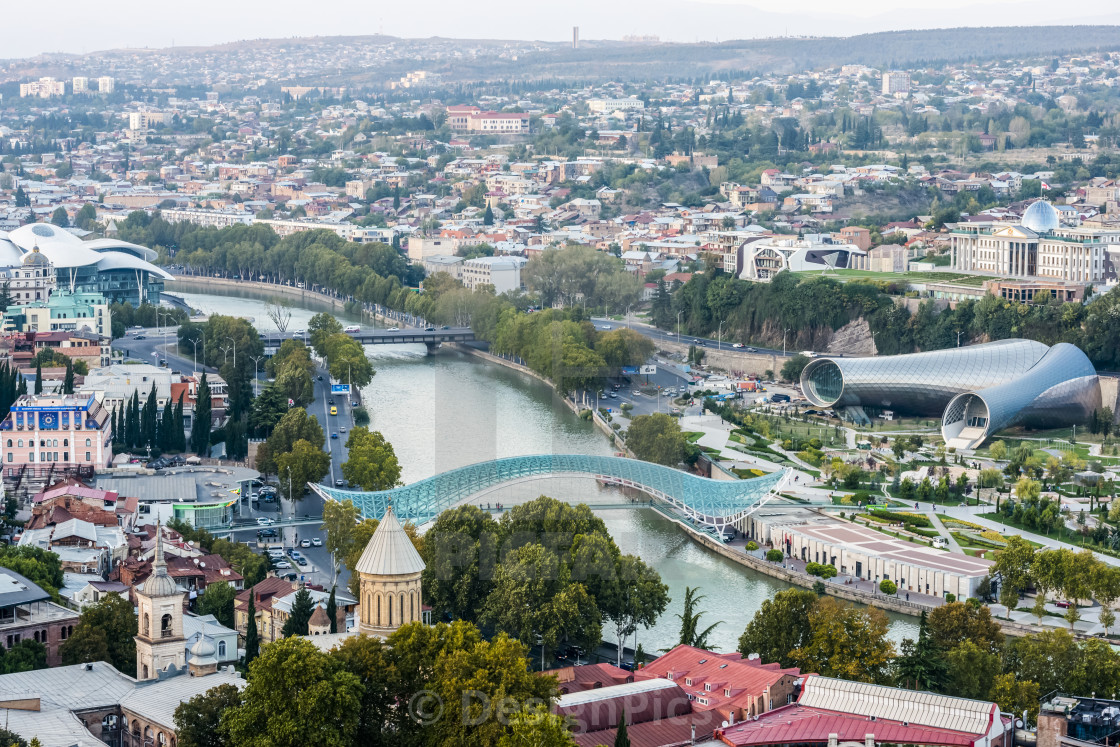 Tbilisi- Is the largest city of Georgia.
