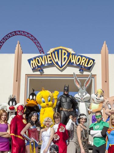 Warner Bros movie world- Theme park