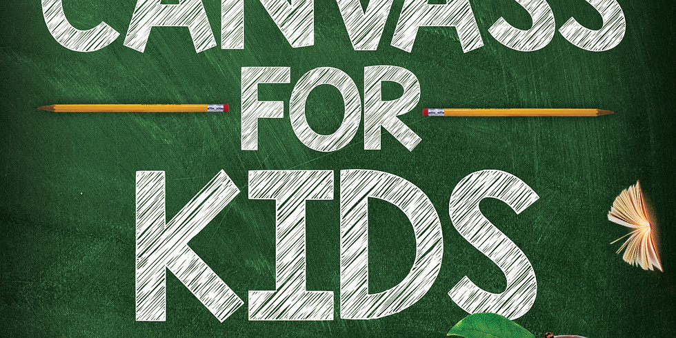 Canvass for Kids!!!