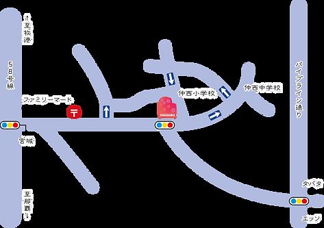 浦添教室MAP