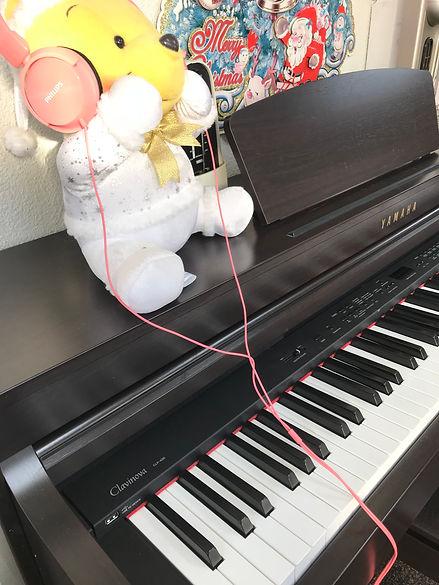 浦添教室電子ピアノ