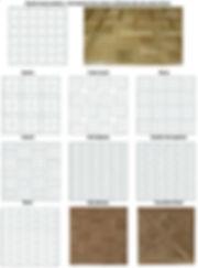 Oak parquet types