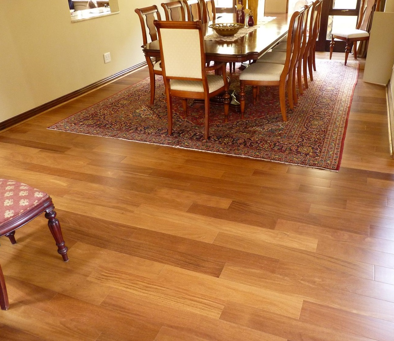 Cumaru flooring
