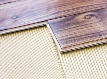 Wood floor installation methods explained - glue down