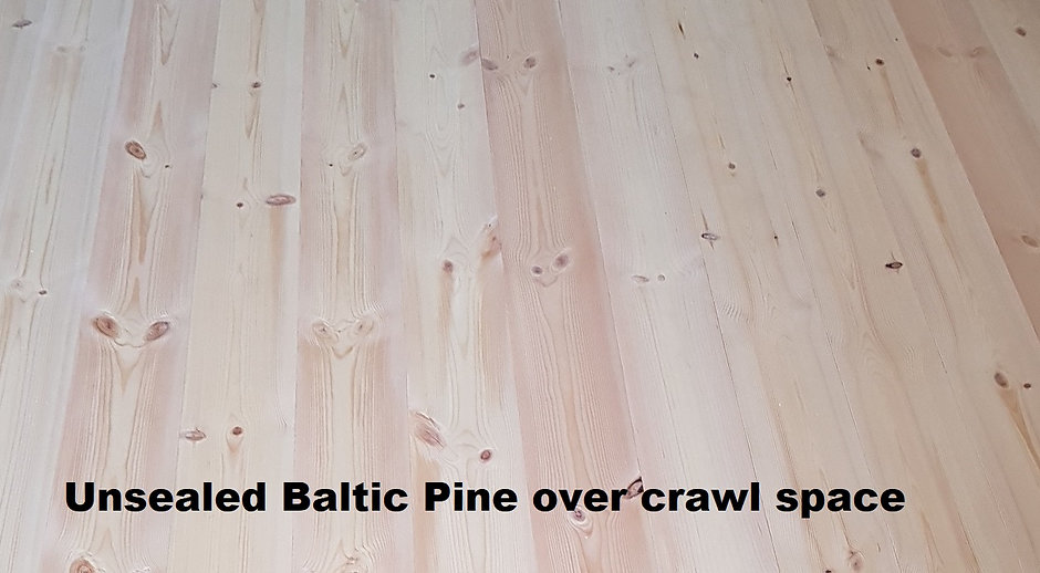 Baltic Pine - unfinished