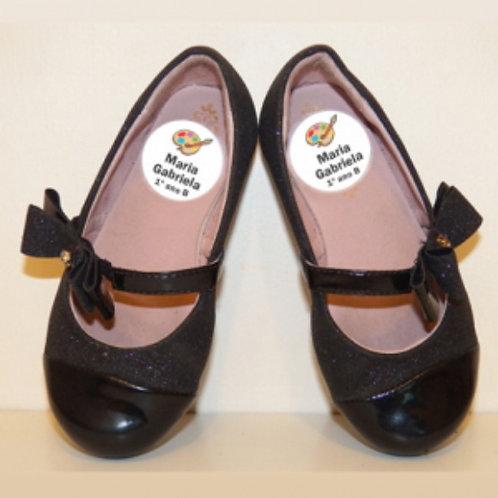 Etiquetas para sapatos - 12 pares