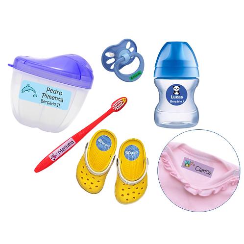 Etiquetando para a creche - Kit I