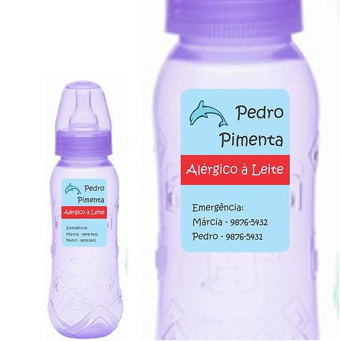 Etiquetas à prova d'água para cuidados especiais -  20 unidades
