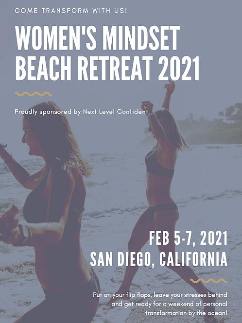 Women's mindset Beach retreat 2021