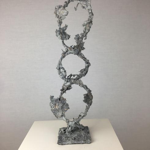 DNA. Bronze. Private Commision.