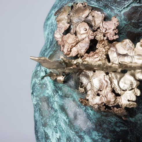 From the Heart. Bronze (detail)