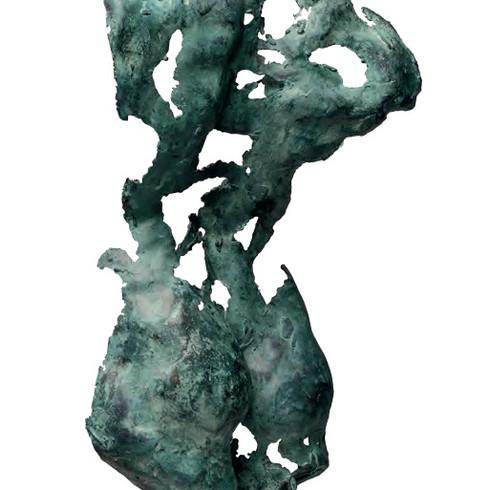 Panthea, Bronze on Carrera Marble Base.