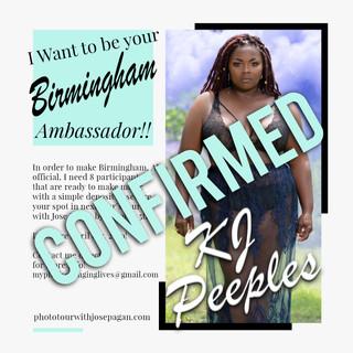 2019 Ambassador sign up flyer Birmingham
