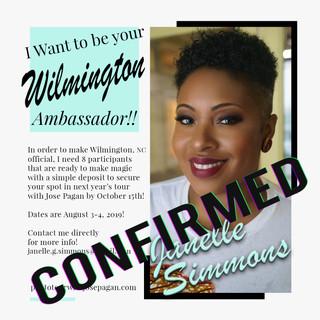 2019 Ambassador sign up flyer Janelle Si