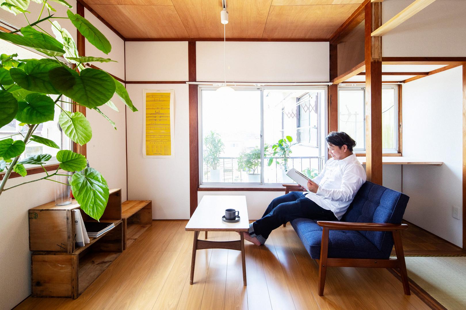 Shiroyama garden apartment