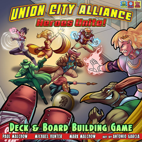 Union City Alliance Heroes Unite Cover c