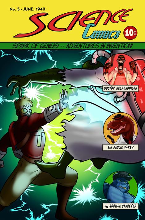 1940 Doctor Tomorrow Science Comics #5.j