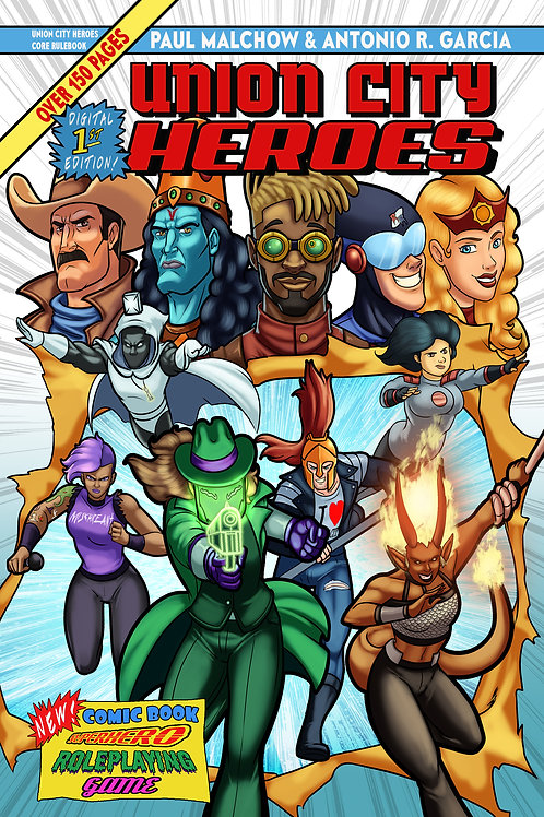 Union City Heroes Core Rulebook Digital First Edition