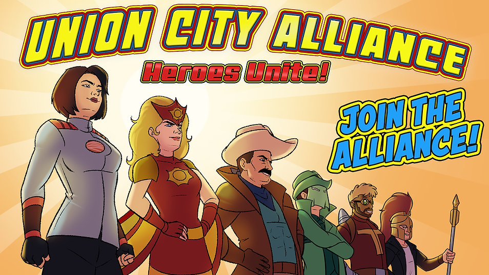 Heroes Unite Join the Alliance Victory B