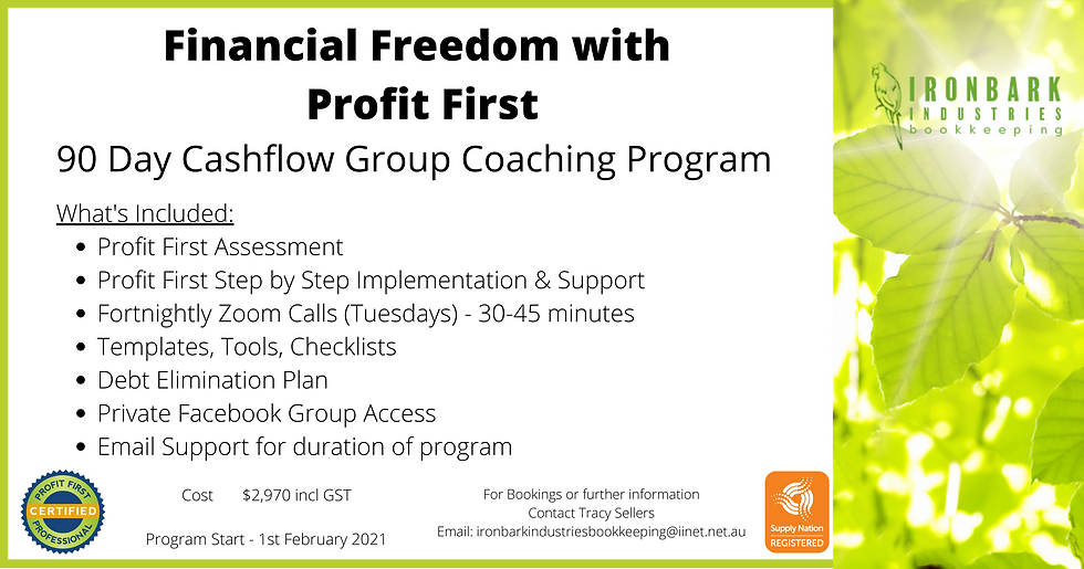 Financial Freedom with Profit First Febr