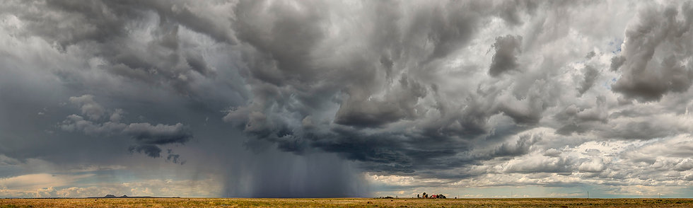 Storm Approaches Oklahoma Farm