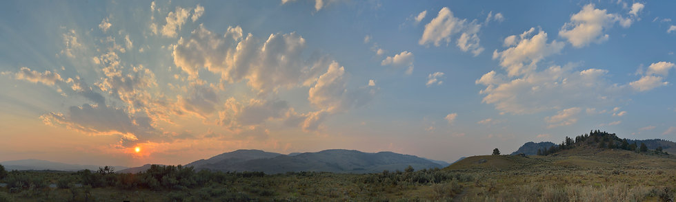 Sunset on the Washburn Range, #2