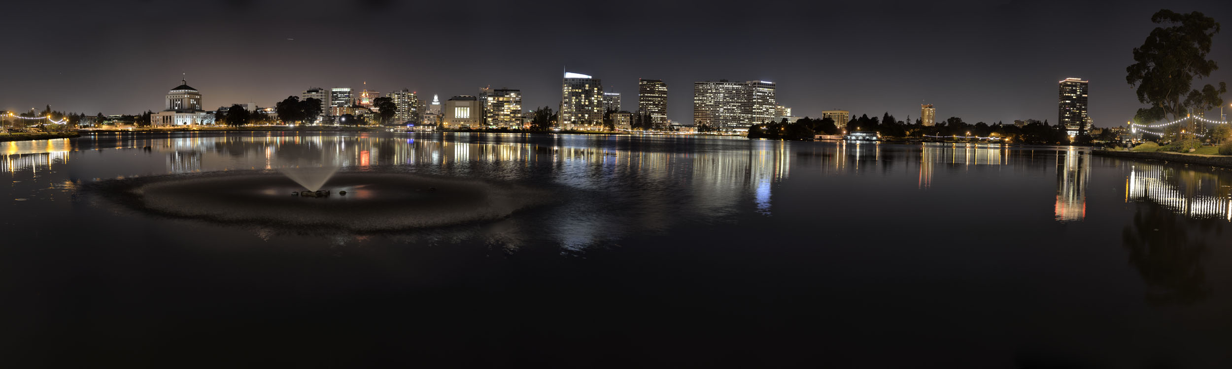 Oakland at Lake Merritt