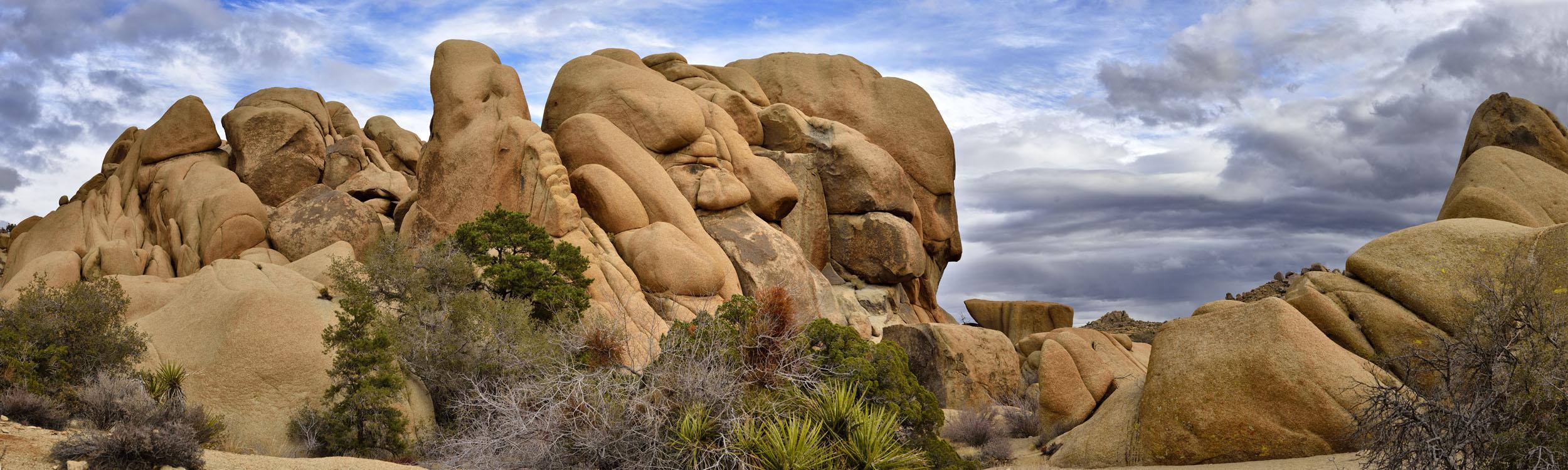Rock Formation in Joshua Tree