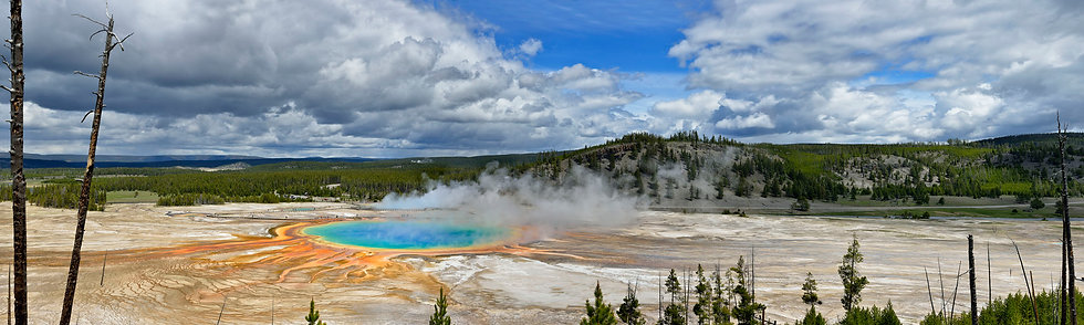 Prismatic Springs, the Long View