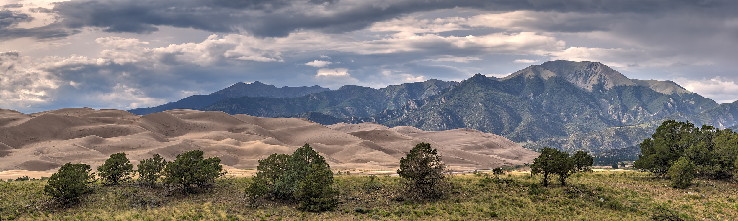 Storm Over Mt. Herard, Great Sand Dunes NP