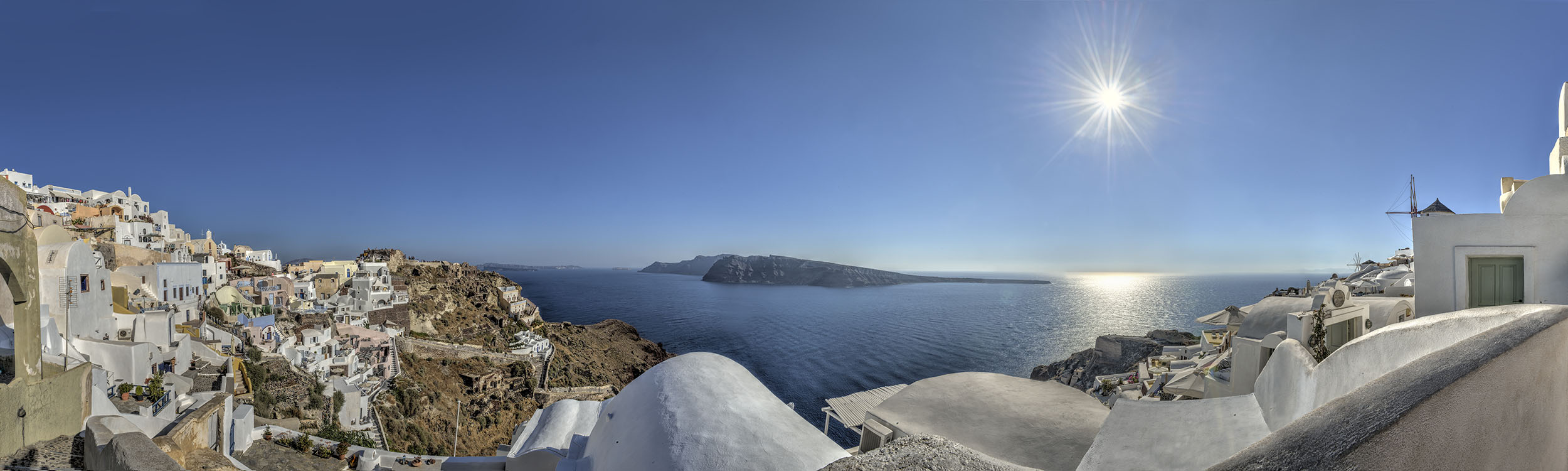 Afternoon in Santorini