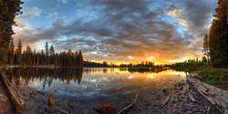 Sunset #2, Manzanita Lake