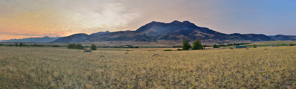 Predawn at Emigrant Mountain, MT