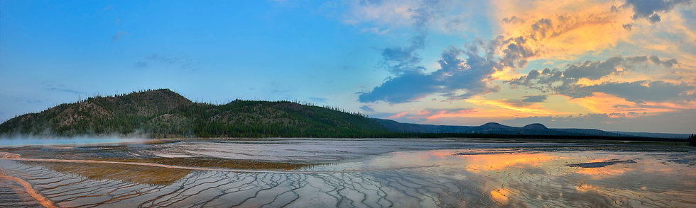 Prismatic Spring #1, Yellowstone NP
