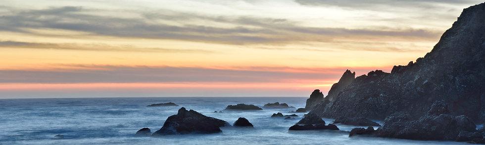 Evening at Stillwater Cove, CA